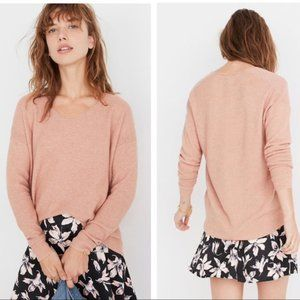 Madewell Kimball Pullover Sweater wool blend SZ XS